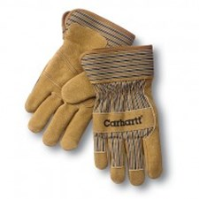 Lined Leather Palm Glove - Suede Cowhide