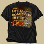 Buck Wear t-shirt of deer camp