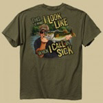 Buck Wear fishing t-shirt