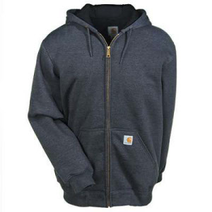 Carhartt Rain Defender Rutland Thermal-Lined Hooded Zip Front Sweatshirt